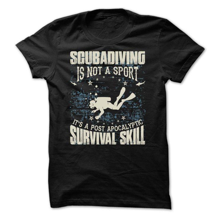 Scuba Diving Is Not A Sport T-Shirt