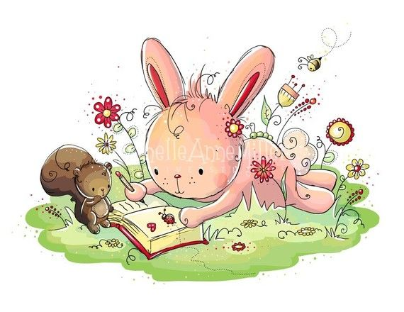Bunny's Diary by RachelleAnneMiller on Etsy, $15.00