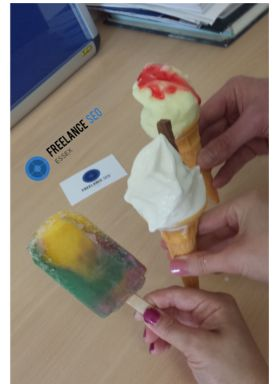 99, lemon ice & a zzapp - we can't wait for the summer again here at FSE!