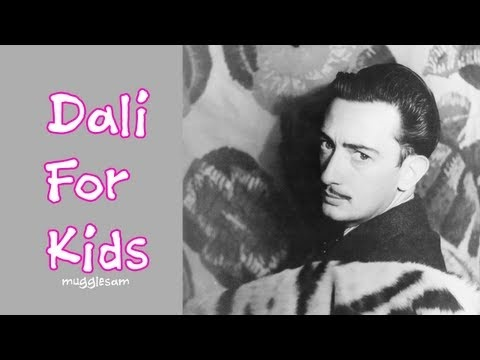 Salvador Dali For Kids - 6 Year Old Sophia Interviews Dali