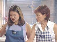 Dim and Cathy Geefay Cooking Thai Food