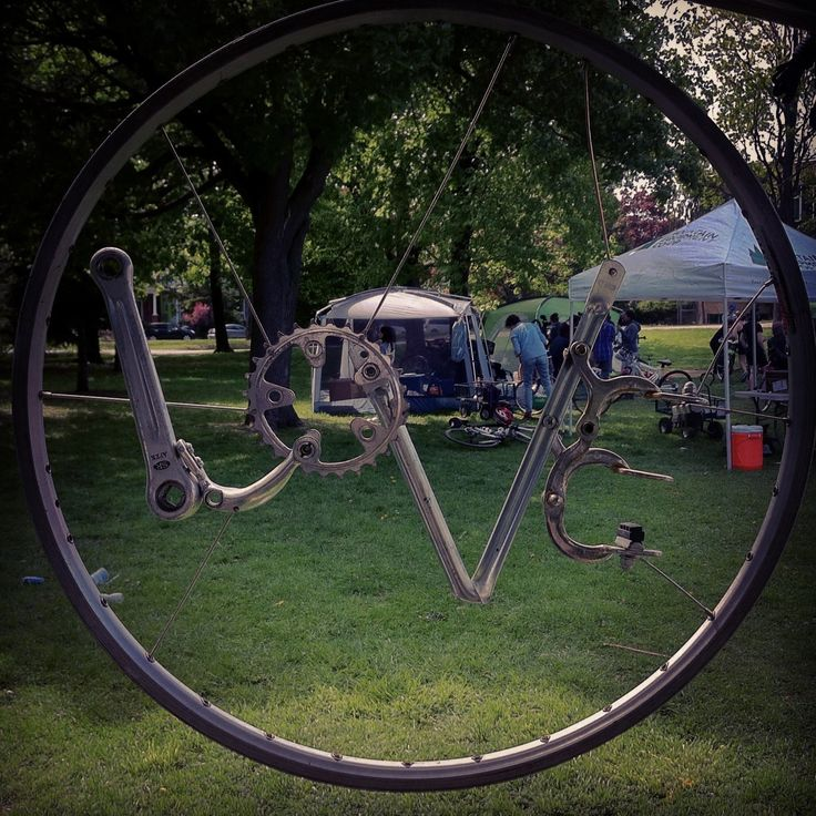 91 Best Bike Craft Images On Pinterest Bike Craft Recycled Bike