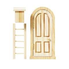 Fairy set dörr/stege/brevlåda