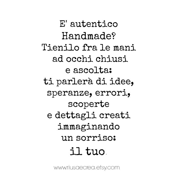 #handmade #quotes: tips to recognize it and appreciate it more...