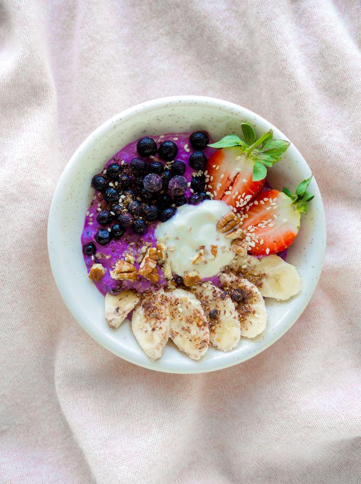 blueberry overnight oats w/ cardamom & vanilla - feel good kitchen