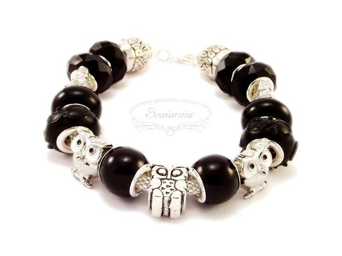 Modular bracelet with owls