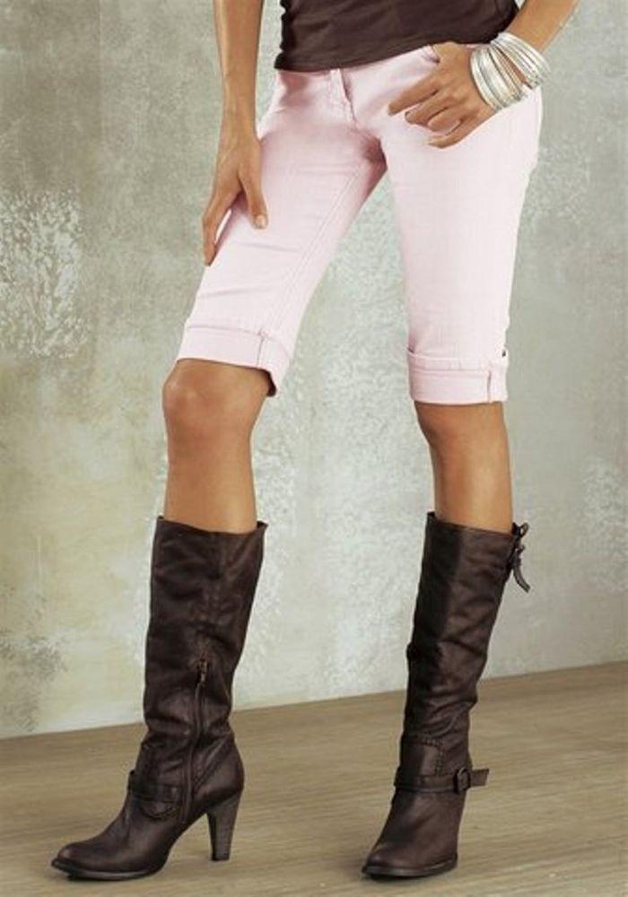 Jeans - Bermudas / Kurze - Jeans von  Melrose Gr.36 ROSA