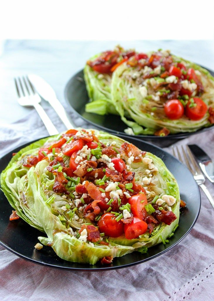 Lisa's Dinnertime Dish:  Steakhouse Wedge Salad with a Twist