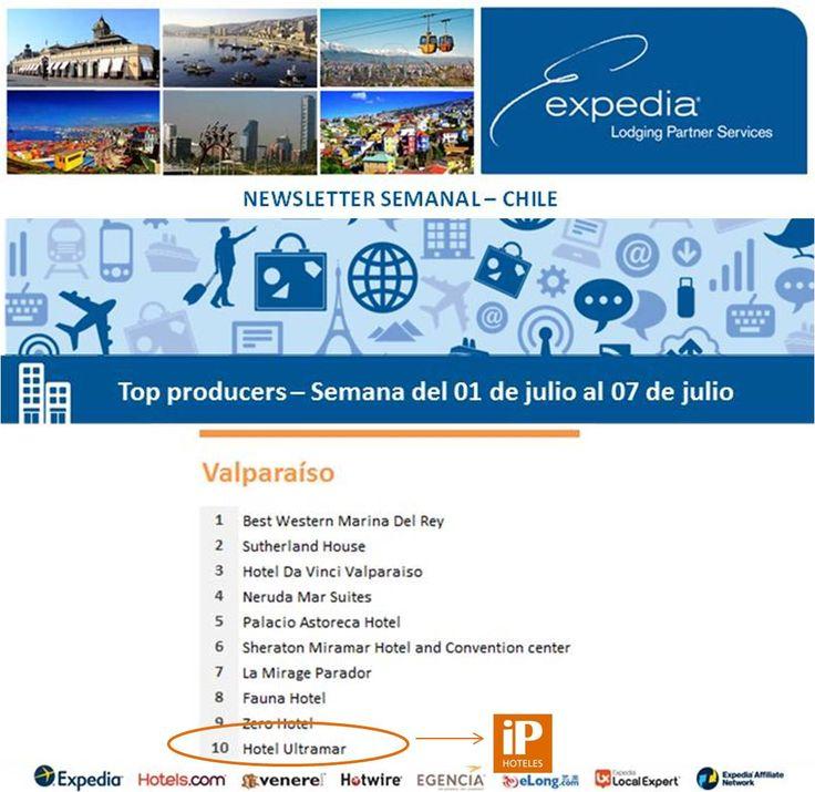 iP Hoteles - Expedia - Semana del 01 de julio al 07 de julio de 2013 - Ultramar