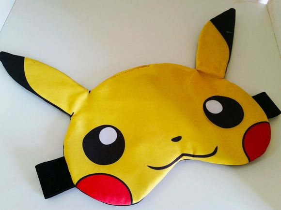 Mascara de dormir Anime Pikachu Pokemon                                                                                                                                                                                 Mais