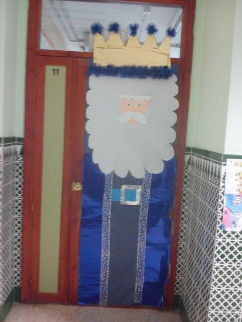 decoraci n navide a de puerta ambientaci n aula e murais