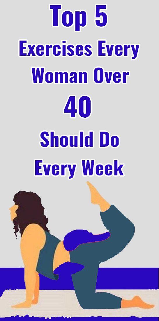 Top 5 Übungen, die jede Frau über 40 jede Woche machen sollte