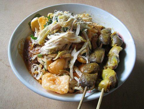 Bubur Ayam (in Indonesian)