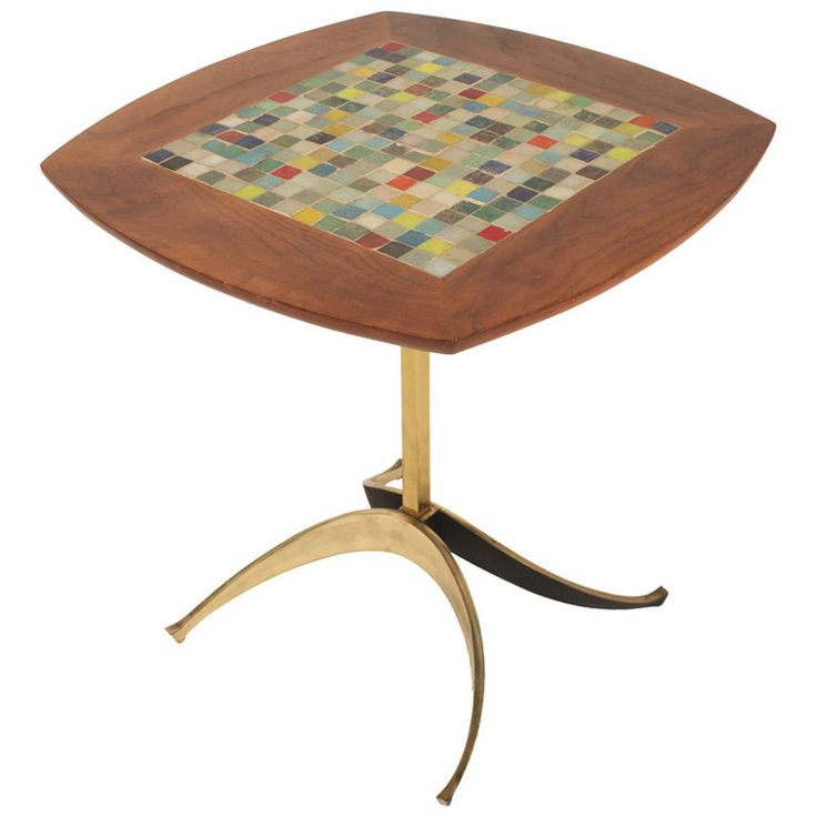 90 best Mid century modern tile ceramic tables and wall art images