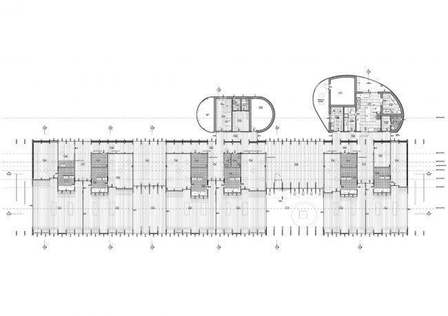 Детские ясли в городе Гвасталла © Mario Cucinella Architects