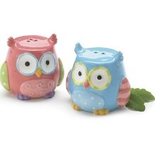 93 best images about silly salt pepper shakers on pinterest fine china salt pepper shakers - Owl salt and pepper grinders ...