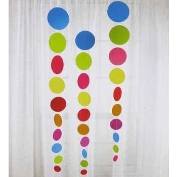 Bright Round Hanging Decorations