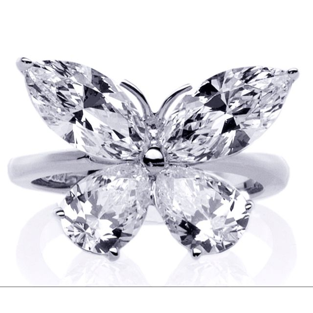 butterfly wedding ring - Butterfly Wedding Ring