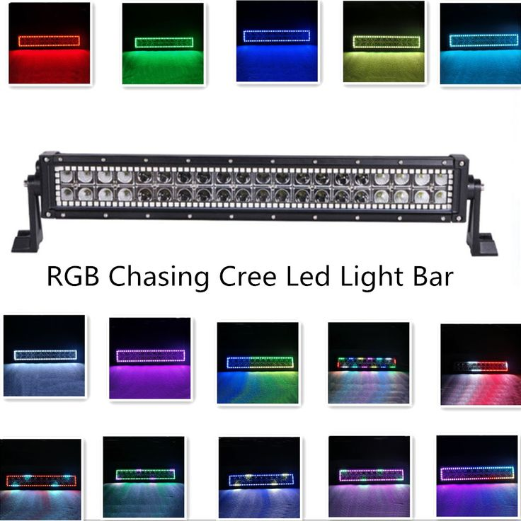 1000 Images About Halo Led Light Bar On Pinterest 4x4