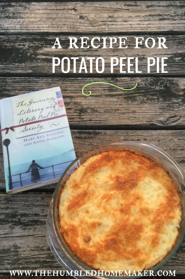 While reading the popular novel The Guernsey Literary and Potato Peel Pie Society, I knew I would want to create my own version of the potato peel pie. While it's not the exact same pie that is depicted in the novel, I'm excited to share that my version turned out to be a delicious breakfast …