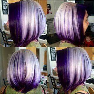 Shades of Purple Hair...