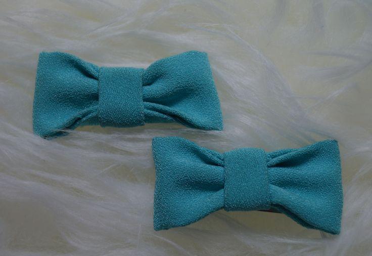 #diadema y #pinzas #pelo en color azul celeste petitdudu
