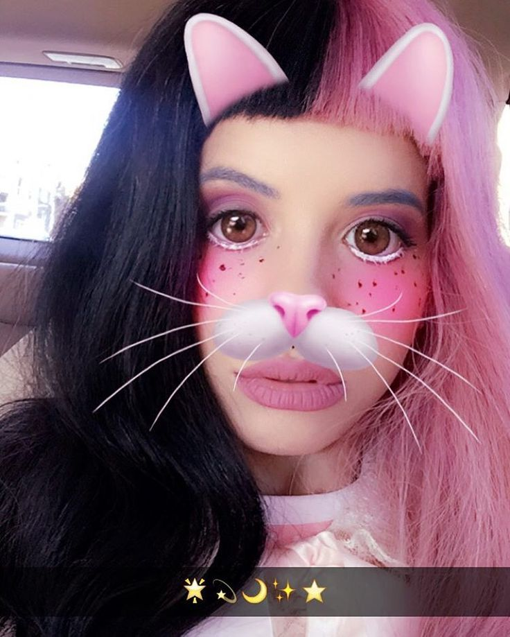 """Melanie Martinez Snapchat is out in public!"" by Boo! (@Snapchat) on Aug 29, 2016, 7:07 pm - Dizkover"