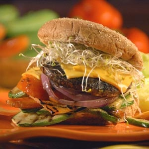 hamburguesa Portobello-via Toothpick Guide fever
