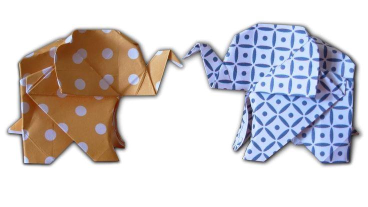 How to Make an Origami Elephant - YouTube