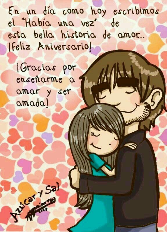 Gracias por enseñarme a amar y ser amada #love