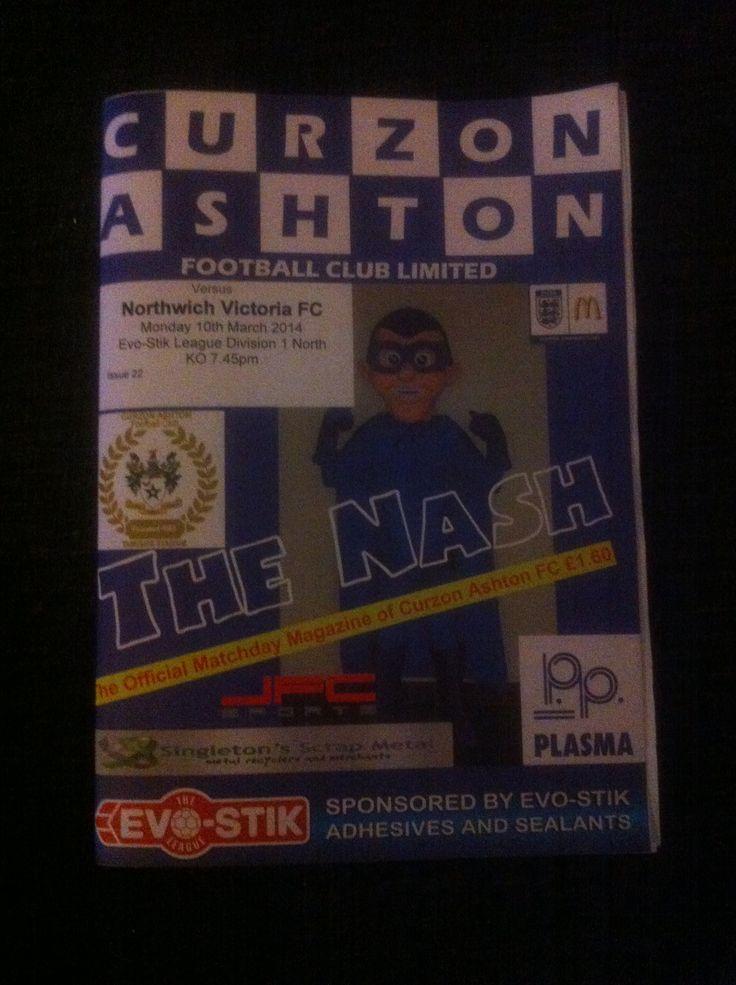 Curzon Ashton v Northwich Victoria
