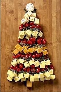 Cute cheese/veggie tray idea