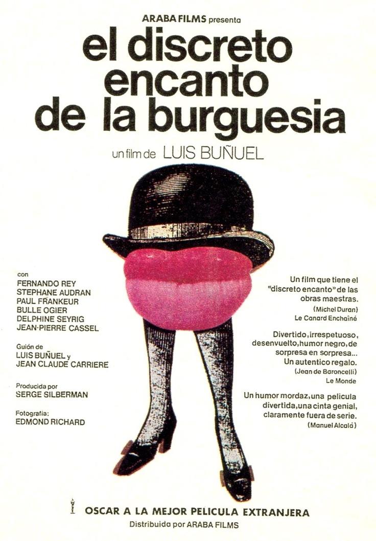 El discreto encreto de la burguesia / Le Charme discret de la bourgeoisie -- Luis Bunuel
