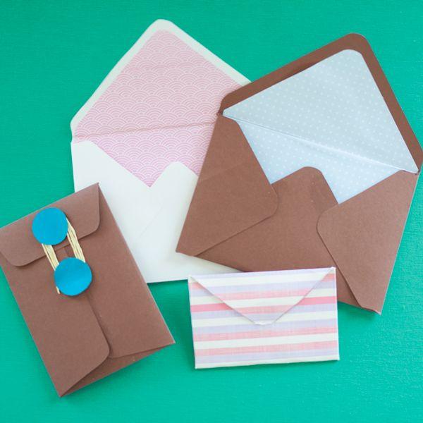 Entra y descarga estas plantillas para hacer sobres. Podrás personalizarlos como quieras y darles un toque muy especial. Son muy fáciles de hacer.