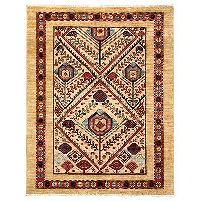 Chobi - keleti csomózott szőnyeg - Szenné, 140e/nm, növényi, Pakisztán