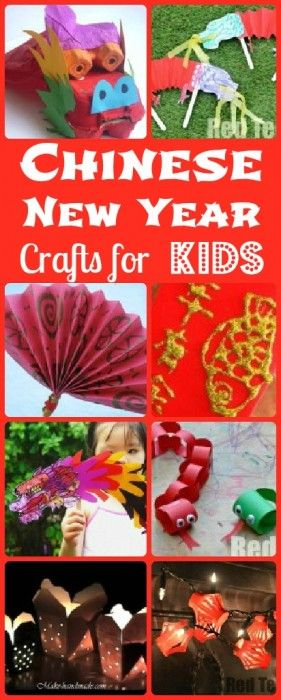 Planning Chinese New Year? Be inspired by this set of lovely Chinese New Year's Crafts! Lots to explore and choose from!