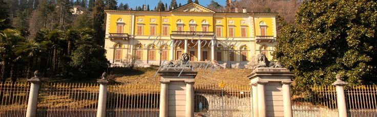 Villa Faraggiana is an elegant neoclassical villa situated in a panoramic position on the shore of Lake Maggiore between Arona and Meina, along the nationa