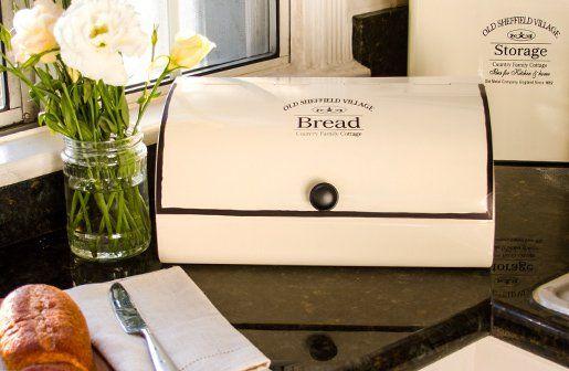 Bread Box | Vintage Bread Box | Old Fashioned Bread Box