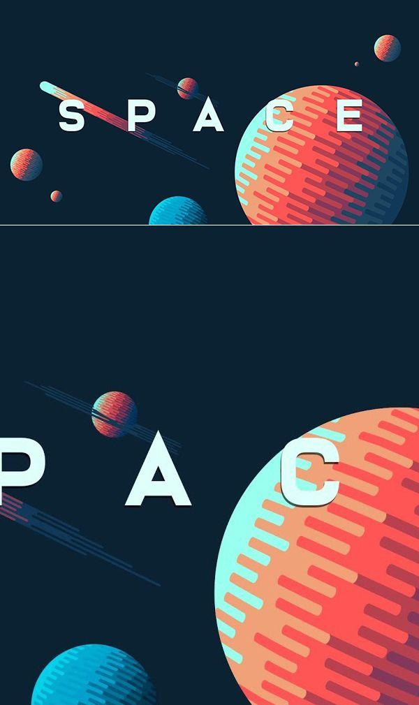 Erstellen eines Hintergrunds für die Weltraumillustration in Adobe Illustrator Tutorial #dig …