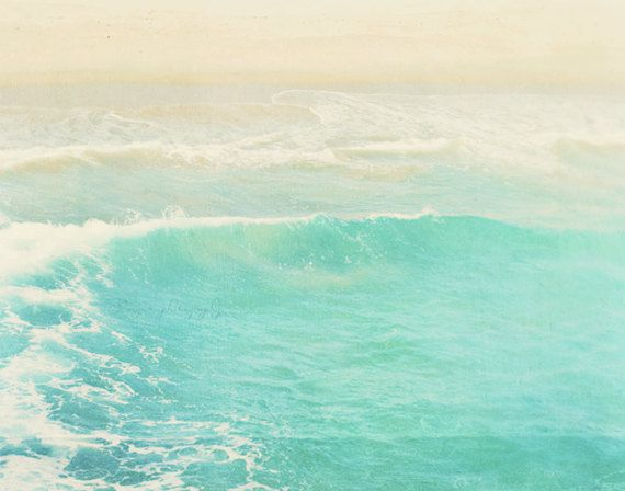 ocean wave photograph surge surfer swimmer Hermosa by MyanSoffia, $90.00Summer Vacations, Aqua Blue, California, Art, Summer Beach, Ocean Waves, Peppermint, Beach Photography, Hermosas Beach