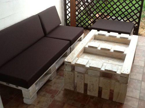 Muebles de palets en sevilla muebles ecologicos de dise o for Muebles chill out baratos