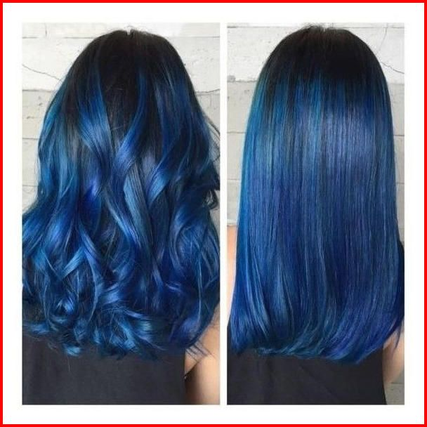 50 Blue Hair Highlights Ideas Blue Highlights Are Becoming More