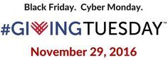 givingtuesday 2016 logo | GivingTuesday with Auctria on Pinterest | Giving Tuesday, Charity and ...