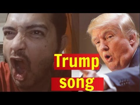 BREAKING NEWS  The Donald Trope song released  The Donald Trump Song