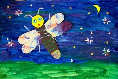The Art Annex: Lonely Firefly Craft