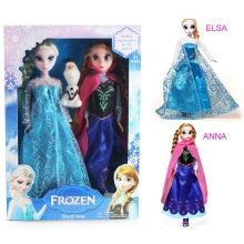 Frozen lalki Elsa Anna Olaf zestaw 3 w1