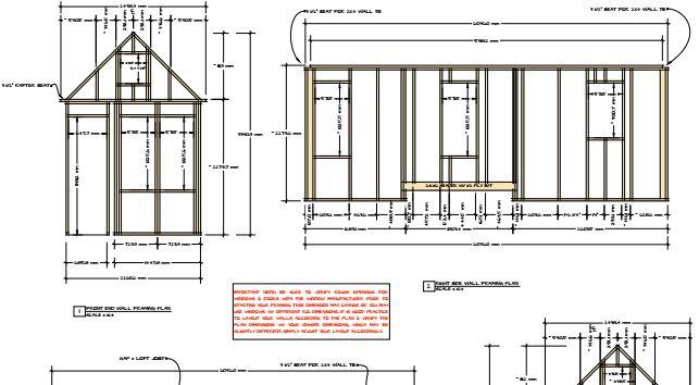 Voici un pdf d taill sur la structure d 39 une tiny house for La structure d une maison