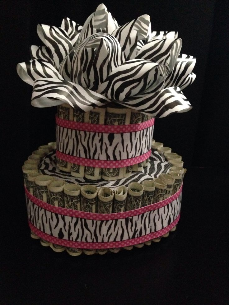 Money Birthday Cake Made This Cake Out Of 50 One Dollar