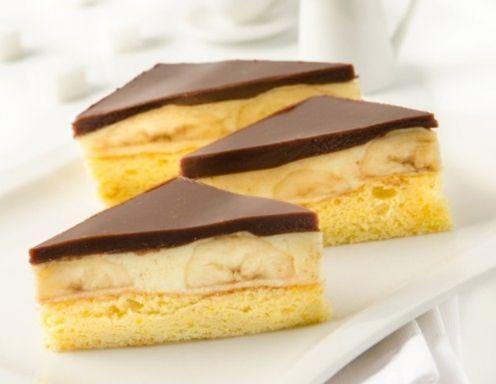 Himmlische Bananenschnitten Rezept (Cake)