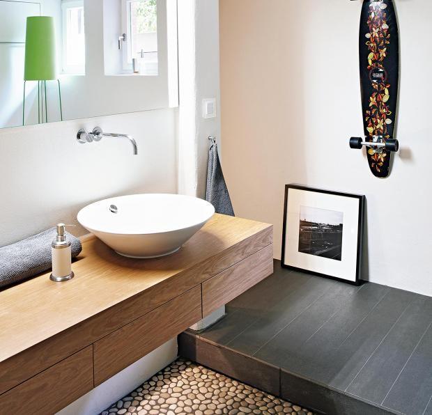 Die besten 25+ Badezimmerboden Ideen auf Pinterest Holzfußboden - badezimmer boden